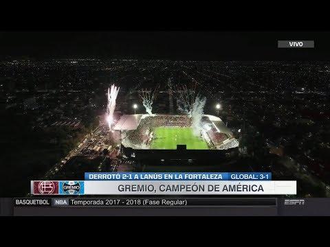 Lanus Vs Gremio (1-2) / Copa Libertadores 2017