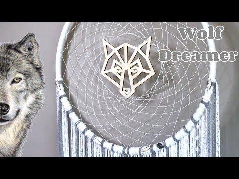 DIY Wolf Dreamcatcher How To Tutorial | Bedroom Decor