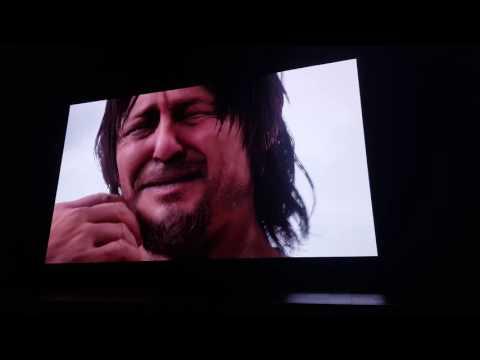 PlayStation E3 2016 - Hideo Kojima/ Death Stranding Reaction