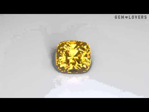 Желтый циркон 5,84 карат