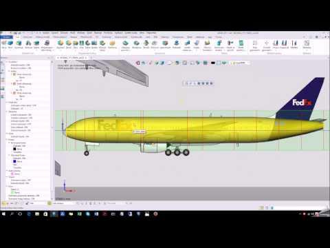 BOEING 777 FEDEX trup kryt