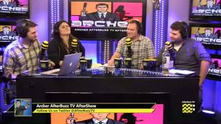 "Archer After Show w/ Naomi Kyle Season 5 Episode 6 ""Baby Shower"" | AfterBuzz TV"
