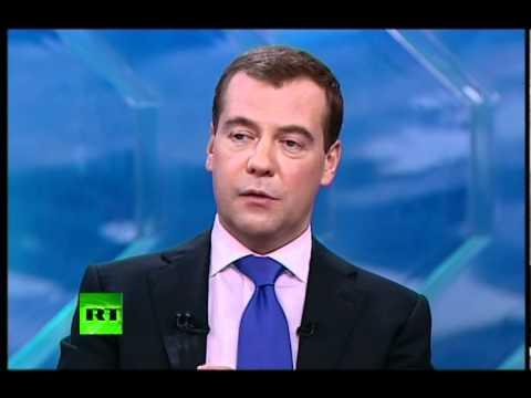 Прощальное интервью президента Медведева