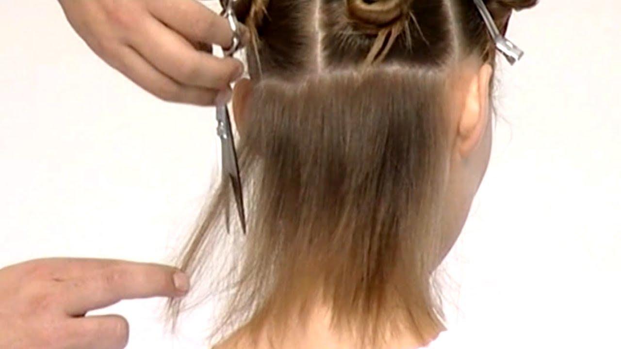Рваная стрижка на короткие волосы