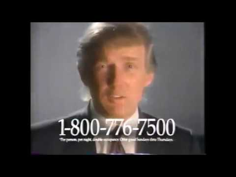 Commercials Featuring Donald Trump