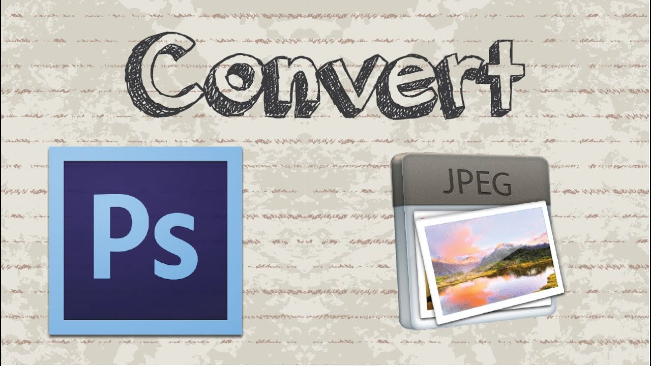 How to convert PSD (Photoshop) format to JPG | High Quality - YouTube