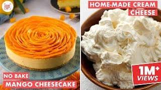 No Bake Mango Cheesecake   Home-made Cream Cheese   Mango Season Special   Chef Sanjyot Keer Thumb