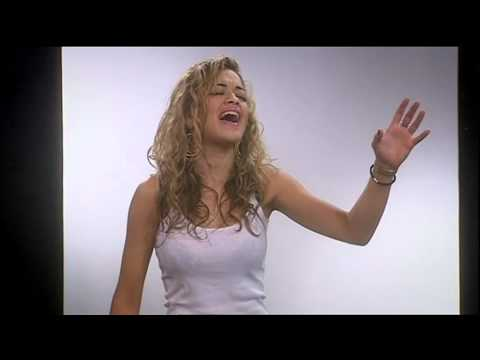 Rita Ora auditioning @ Eurovision: Your country needs you 2009