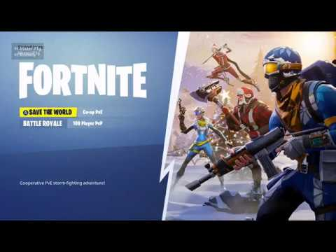 HOW TO GET ON FORTNITE SAVE THE WORLD FOR FREE!