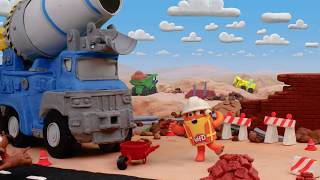 Play-Doh Wheels Cement Truck Toy with 4 Non-Toxic Play-Doh Colors (培樂多泥膠 混凝土車)