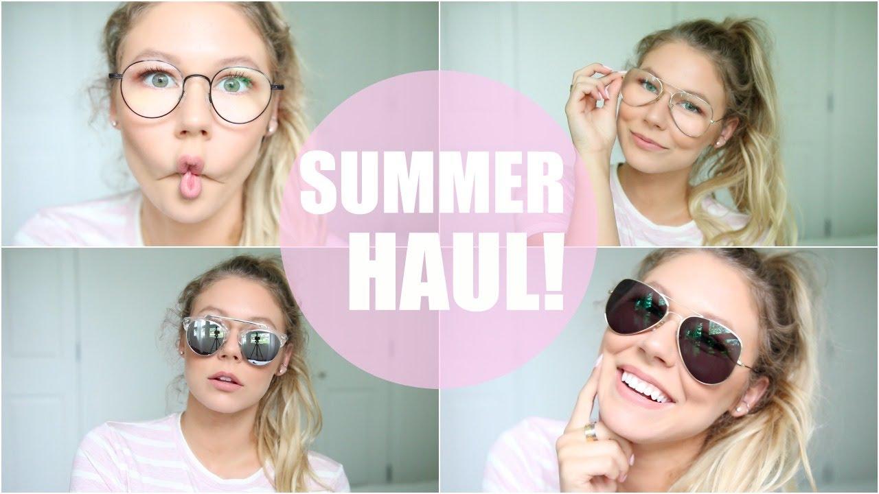 254c07b3da Summer Haul    Current Favourite Glasses - YouTube