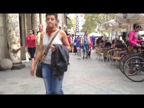 Hustle and Bustle of Barcelona