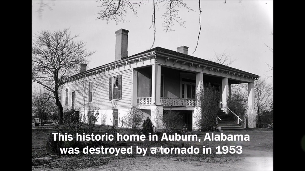 Alabama lee county salem - Perry Cauthen Home In Auburn Lee County Alabama Was Destroyed By A Tornado In 1953