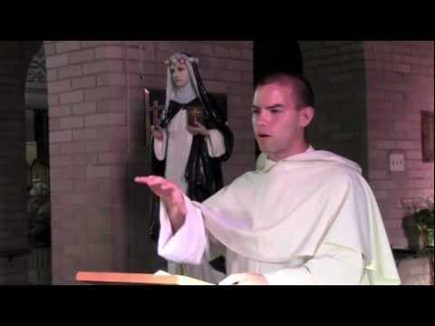 How Could a Good God Allow Evil? St. Rose of Lima and the Cross -- Bro. Joachim Kenney, O.P. .mov