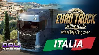Euro Truck Simulator 2 - Italia DLC Multiplayer PC Gameplay (with commentary)