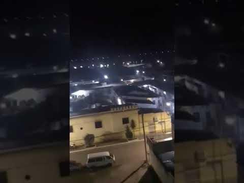 Disturbios en la cárcel: quema de colchones