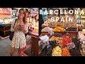 STREET FOOD IN BARCELONA SPAIN | Amazing Tartare!