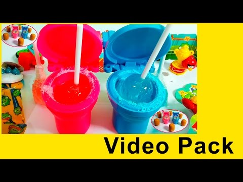 Kinder Joy and Toilet Candy Videos Pack || FunToonToys