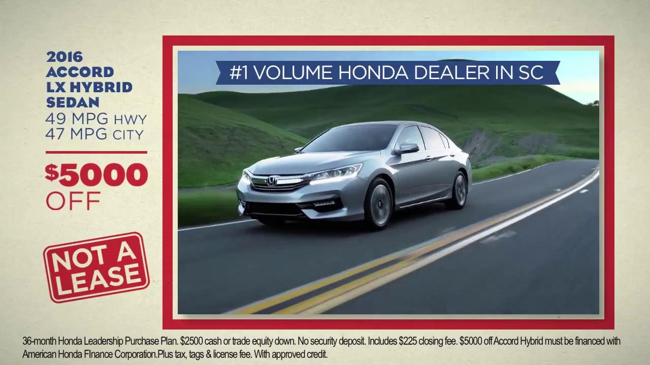 2017 Honda Accord Hybrid 49 Mpg