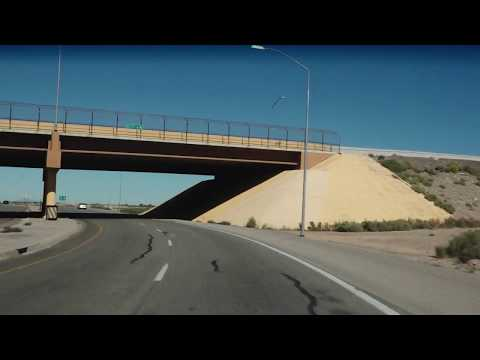 Chasing Elvis:  Driving Day 24 - Deming, NM to Santa Fe, NM via US70 & US285