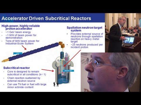Stuart Henderson - Thorium Energy from Accelerator Driven Reactors @ TEAC4