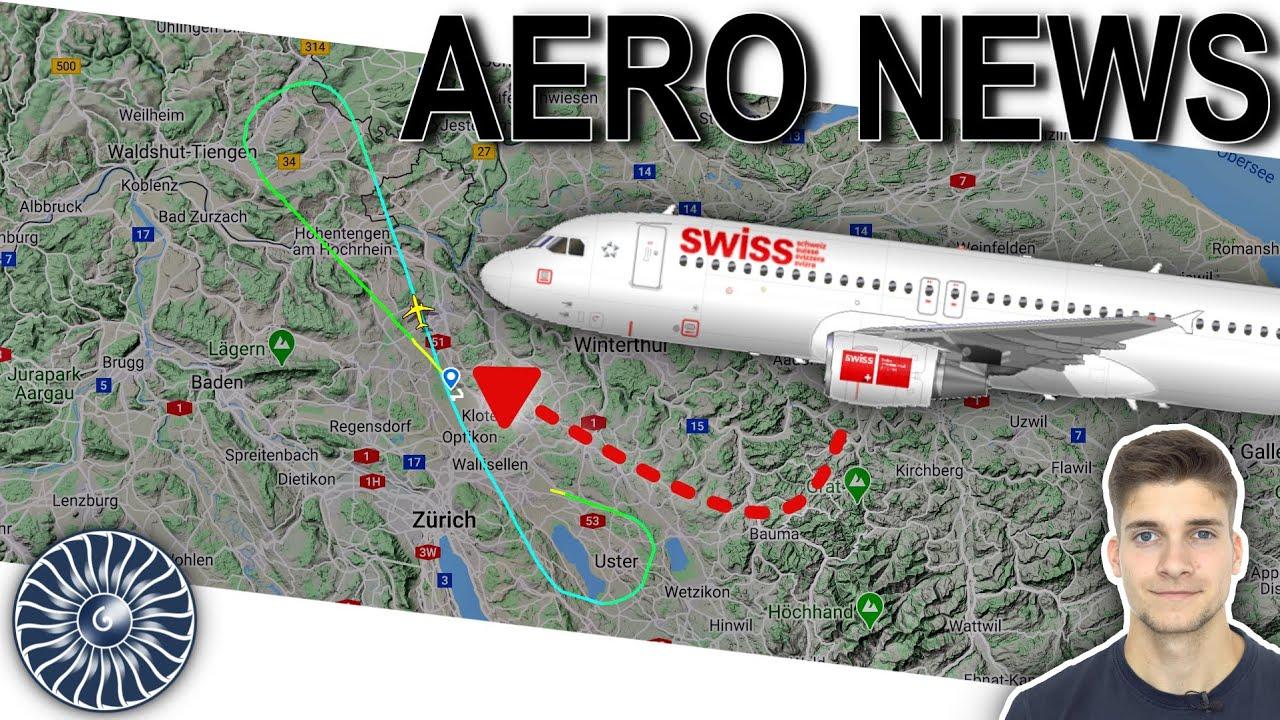 Ein besonderer SWISS-Flug! Dübendorf - Zürich! AeroNews ...