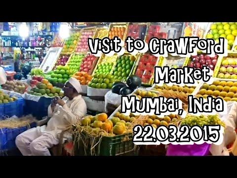 Visit To Crawford Market Mumbai 22.03.2015