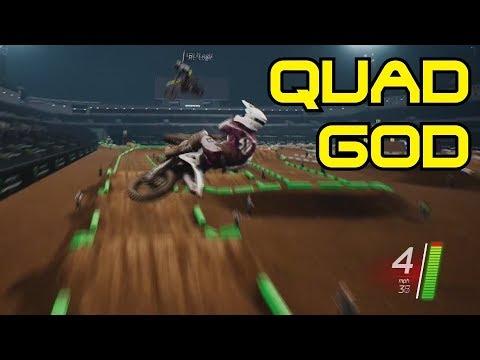 Custom Track Online BATTLE | Monster Energy Supercross the Game | The DonutMX-POUND