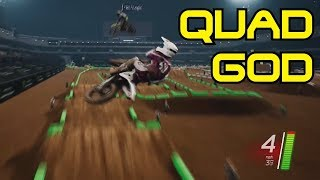 Custom Track Online BATTLE | Monster Energy Supercross the Game | The DonutMX-POUND