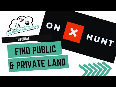 Finding Public And Private Land Using OnX Maps