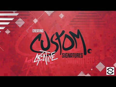 Illustrator Tutorial: Creating Creative Custom Signatures/Text