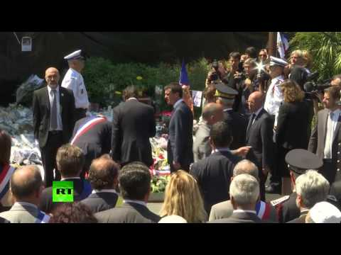 French PM Manuel 'Live with terrorism' Valls booed at Nice attack memorial