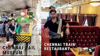 Train restaurant in Chennai   Chennai Rail Museum