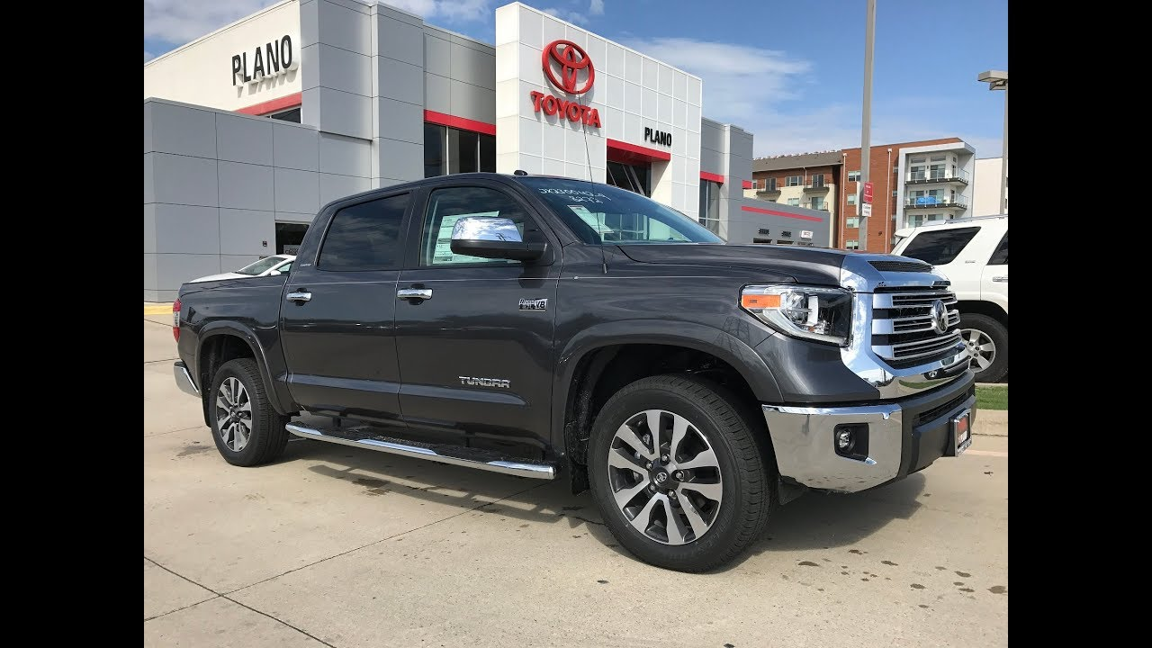 2018 TOYOTA Tundra Limited in Magnetic Gray Metallic with ...
