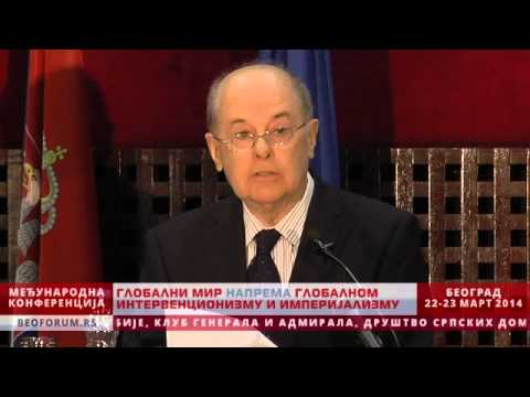 VLADISLAV JOVANOVIĆ (SERBIA) - (Global Peace vs. Global Interventionism and Imperialism)