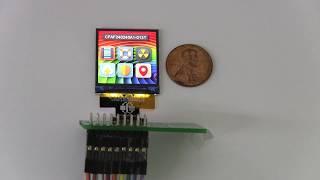 High Density 240x240 1.3'' TFT LCD