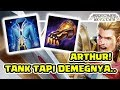 New Hero Arthur! Tanker tapi DEMEGNYA OMG! Mangcap! - Arena of Valor AOV