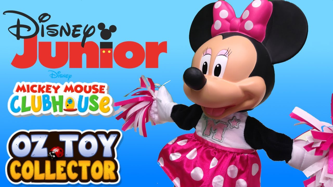 Disney Songs Mickey Mouse Clubhouse Minnie Mouse Toy Disney Junior Toy Unboxing