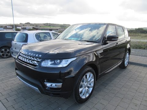 Review and Test Drive: 2016 Range Rover Sport HSE 3.0 TDV6