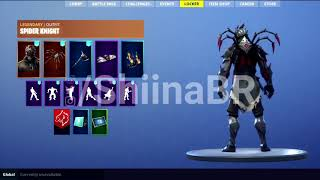 New Skin Spider Knight (Fortnite)