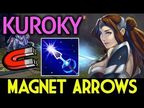 Kuroky Dota 2 [Mirana] WTF!! Magnet Arrows