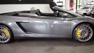 2013 Lamborghini Gallardo LP550-2 Spyder Grigio Lynx DLA12817