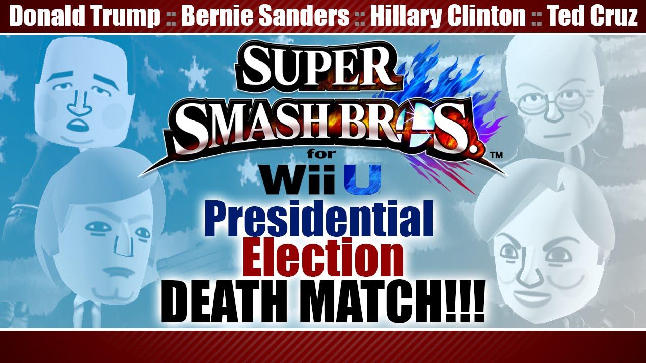 Super Smash Election 2016 (Donald Trump, Bernie Sanders ...