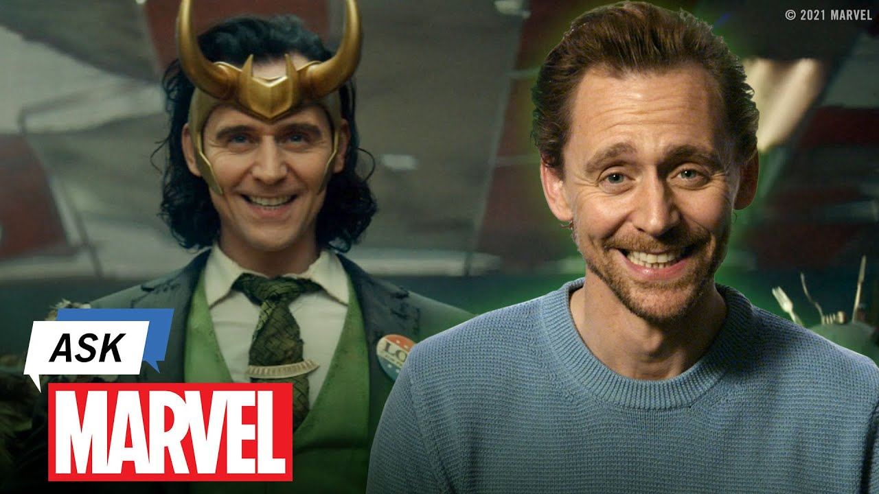 What do Tom Hiddleston & Loki Have in Common? | Ask Marvel