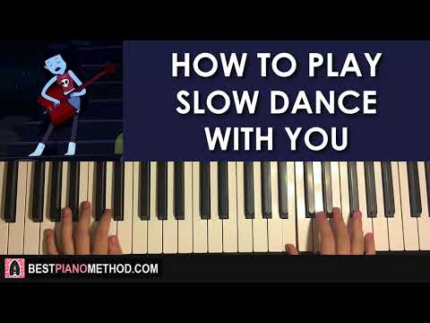 HOW TO PLAY  Adventure Time  Slow Dance With You  Marceline Piano Tutorial Lesson