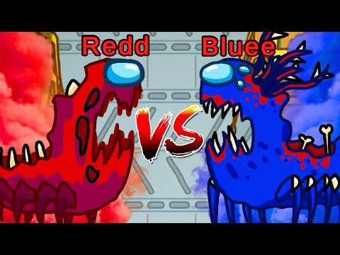 REDD Vs BLUEE (Among Us)