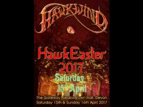 Hawkwind @ the Gateway, Seaton Devon. 15.04.2017.