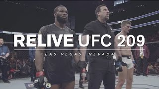 Relive UFC 209 on UFC FIGHT PASS