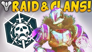 Destiny 2: NEW RAID & MATCHMAKING INFO! Possible Locations, Clan Features & Group Rewards