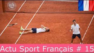 MEILLEURS MOMENTS DU SPORT FRANÇAIS DE LA SEMAINE (Actu Sport Français # 15)